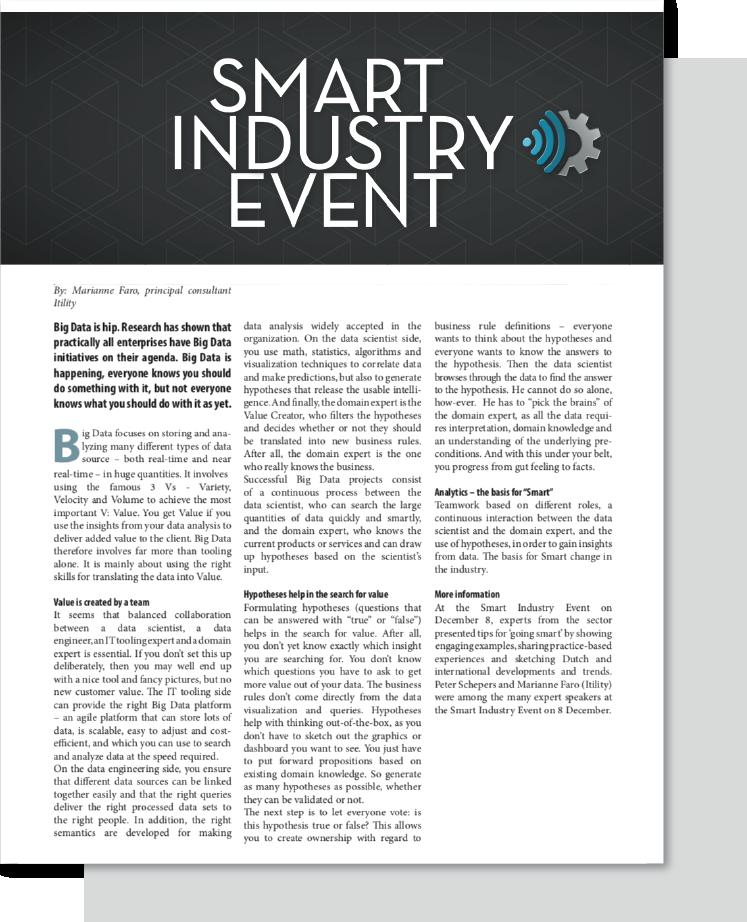 CTA artikelen_Smart industry event