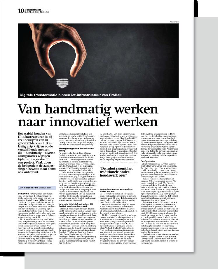 CTA artikelen_Handmatig naar innovatief werken