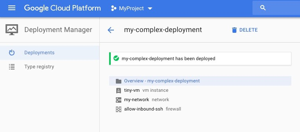 Google Cloud Platform - Deployment Manager